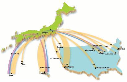 ConsulateGeneral Of Japan In Los Angeles Japan Focus ENewsletter - Japan map activity